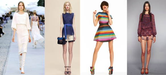 Chanel, Derek Lam, House of Holland, Anna Sui Resort 2012 Collections